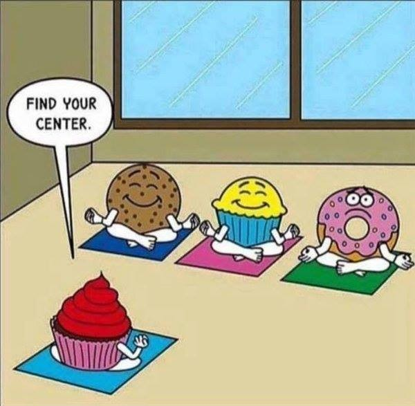 donut meditation comic
